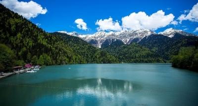 Озеро Рица Туры в Абхазию