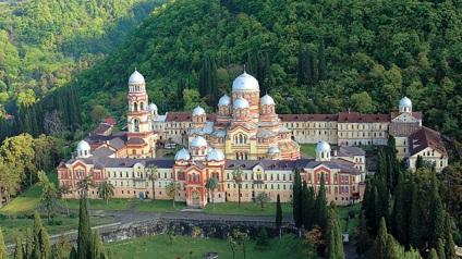Новоафонский монастырь Туры в Абхазию